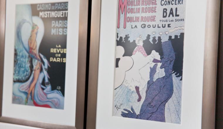 Parijse prints voor aan de muur
