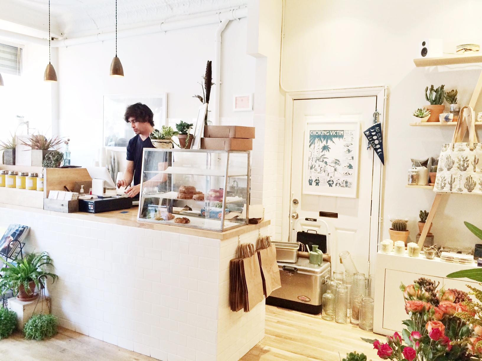 Koffie en plantjes @ Home Coming