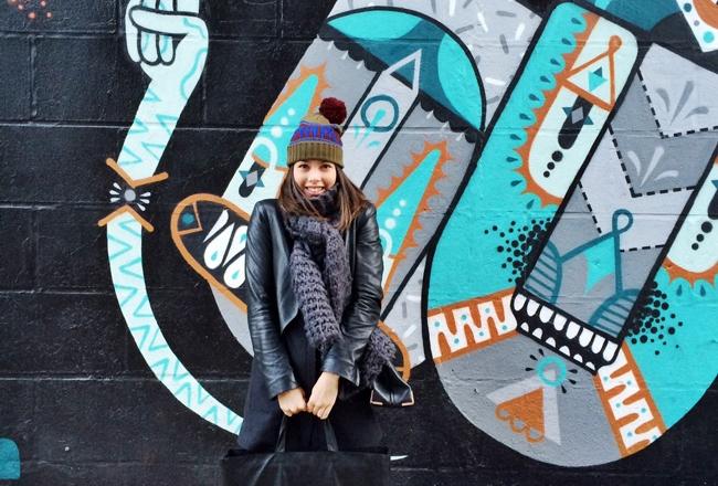 New Yorkse kunst aan de muur
