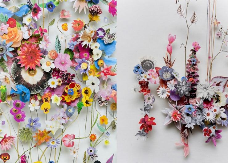 Designvondst: bloem(knip)kunst