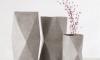 Woonvondst: betonlook bloemenvaas