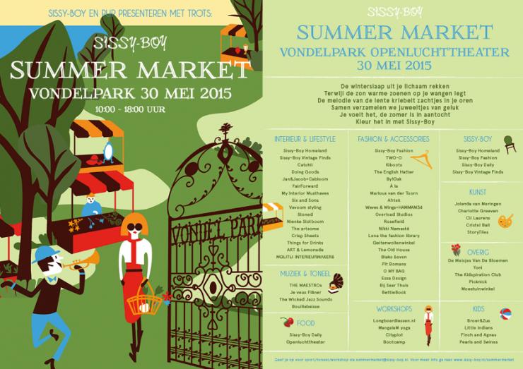 Weekendtip: SissyBoy Summer Market