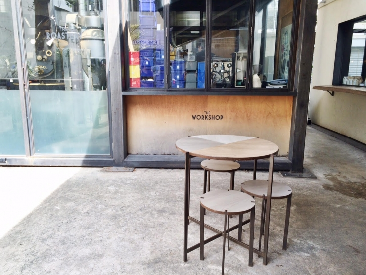 Coole koffiebar in Singapore