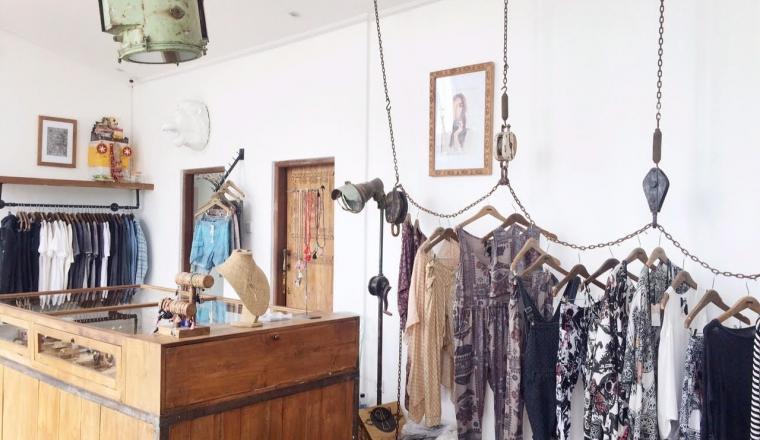 Winkel vol industriele parels in Canggu, Bali