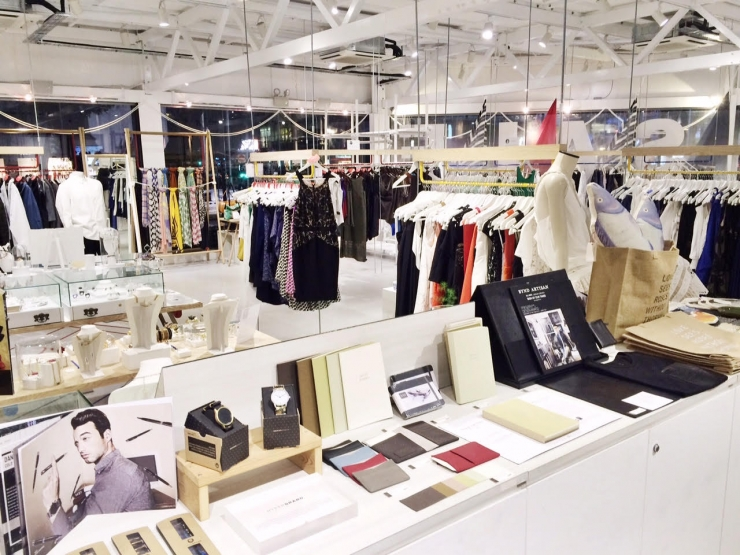 Keepers pop-up store Singapore