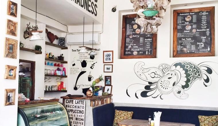 Interior Junkie proof restaurant: Roti Canai, Bali