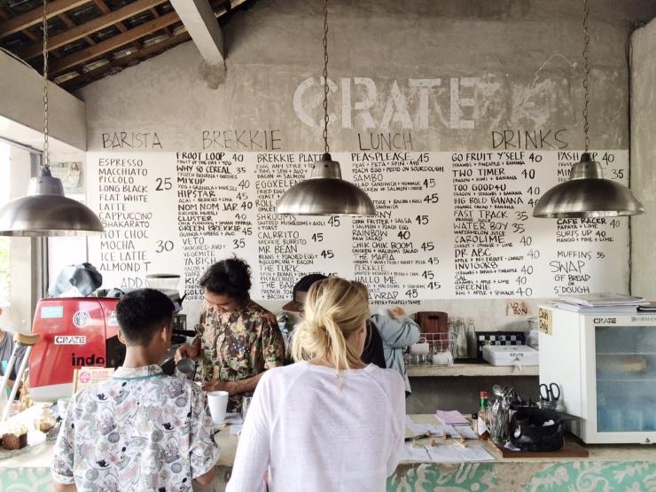 Crate Café: cool industrieel café vol beton