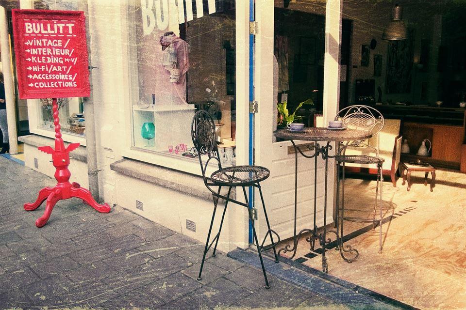 Vintage shoppen @ bullitt in amsterdam interior junkie