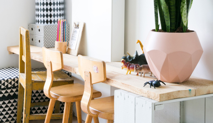 Scandinavische Vintage Woonkamer : Handig een speelhoek in de woonkamer interior junkie