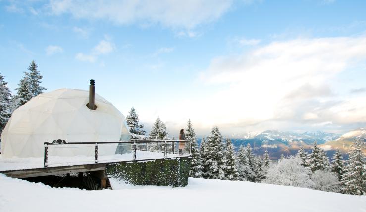 VIDEO: chillen in je eigen winter wonderland