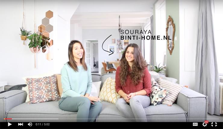 VIDEO: stylingtips voor thuis van Binti Home's Souraya