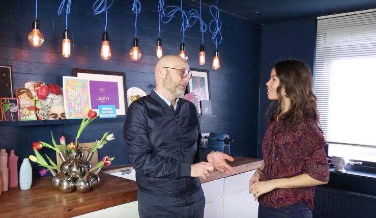 VIDEO: binnenkijken bij designblogger Patrick van Interiorator
