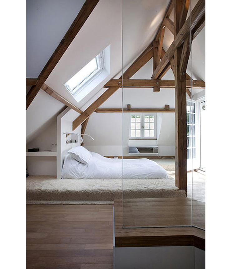 Deco oud houten balken inspiratie het beste interieur - Plafond met balk ...