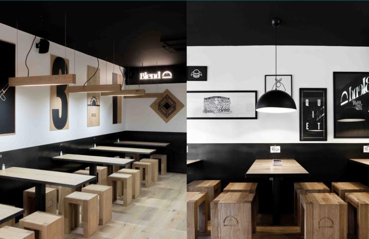 Interior junkie proof hamburgertent blend in parijs for Interior junkie