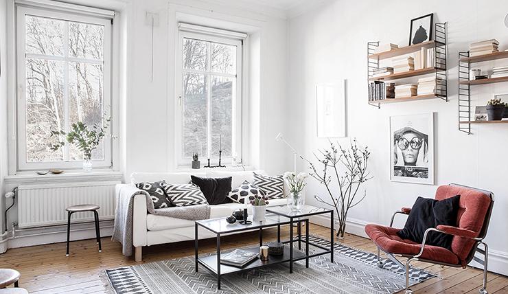 Binnenkijken Wonen Groen : Ruim wonen op m met coole prints aan de muur interior junkie