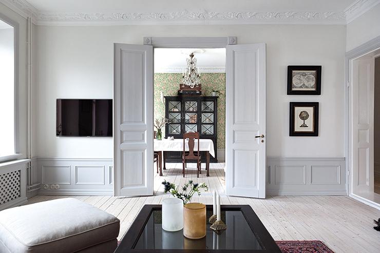 Een Klassiek Interieur : Klassiek interieur in een modern jasje interior junkie