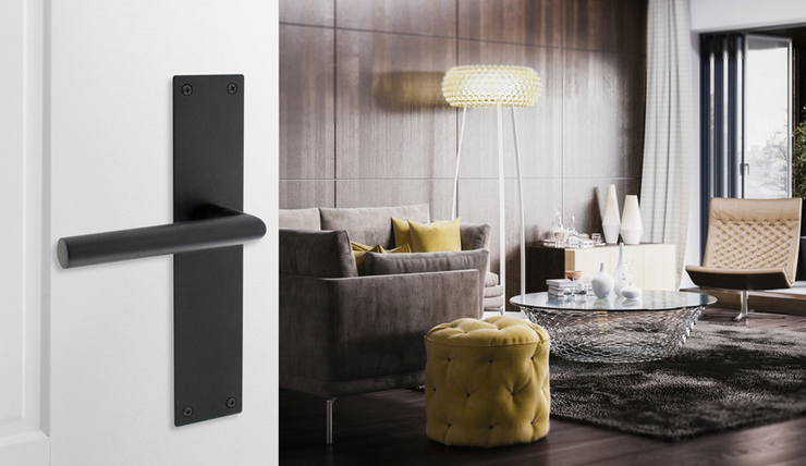 Zwarte Sophie Deurkrukken : Smullen van hippe design deurkrukken interior junkie