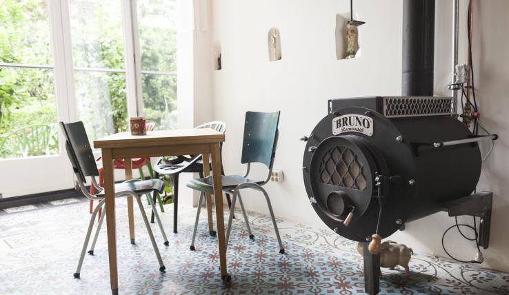 Binnenkijken in een huis vol met afval