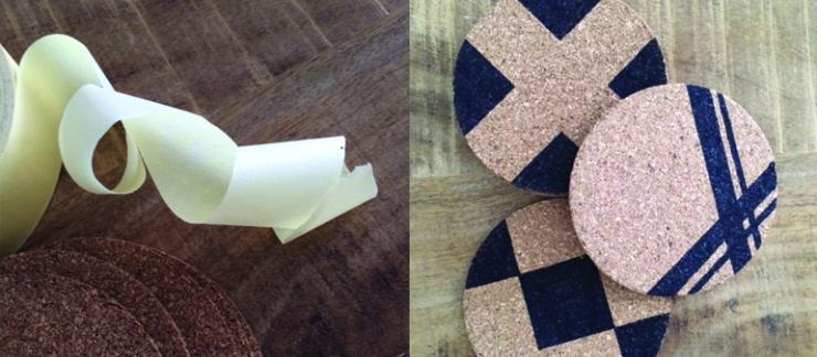 DIY: budgetproof onderzetters van kurk