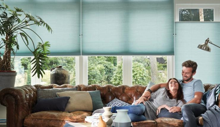 Pronken met raambekleding in huis