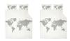 Woonvondst: dekbedovertrek voor wereldreizigers