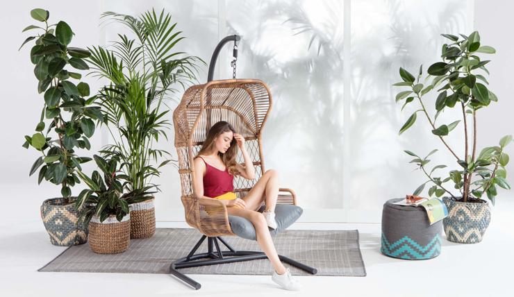 Woonvondst: hangstoel om in te chillen