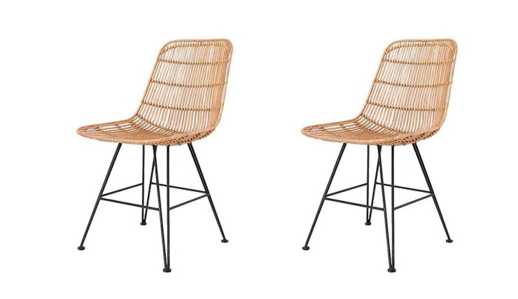 Woonvondst rotan stoel interior junkie for Rotan eettafel stoel
