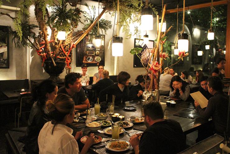 Eten in een Vietnamese oase @ Little V