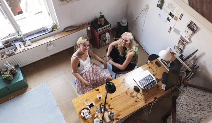 Een kijkje in de studentenkamer van Roxanne van Studio Davero
