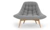 Woonvondst: grijze fauteuil voor luie avondjes