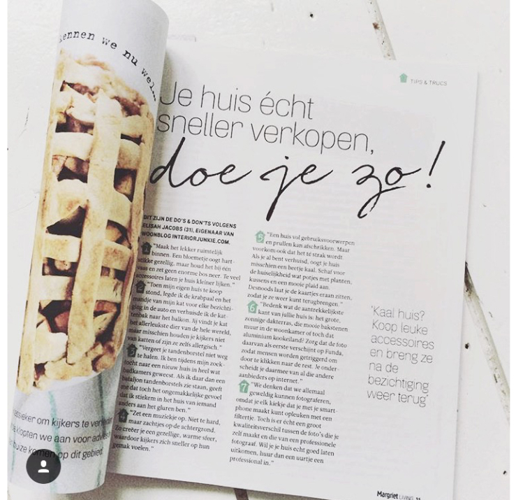 Interior Junkie x Margriet Living & Libelle Woonspecial