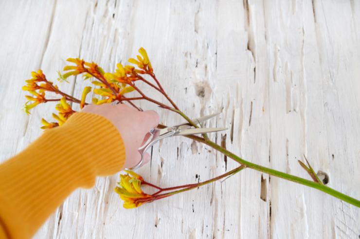 Diy Keuken Kleine : Diy kunstwerkje van gedroogde bloemen interior junkie