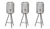 Woonvondst: stoere vloerlamp met kooiconstructie