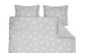Romantisch slapen onder een dekbedovertrek vol sterren