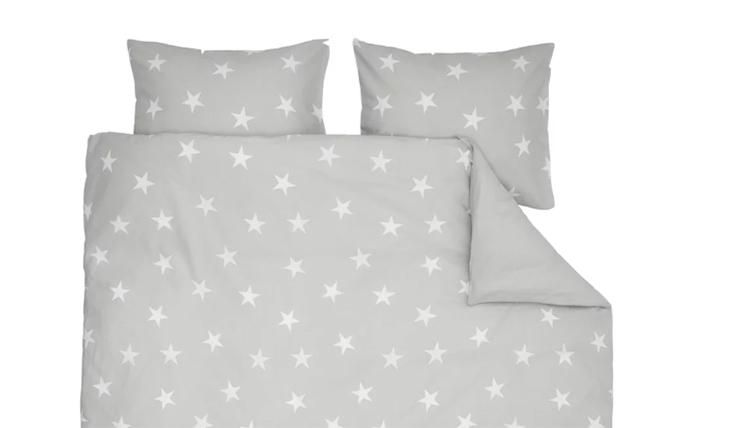 Licht Roze Dekbedovertrek : Romantisch slapen onder een dekbedovertrek vol sterren interior