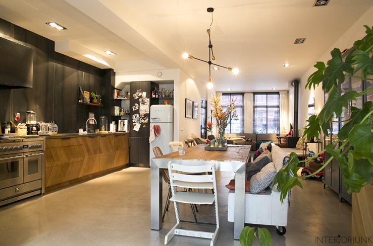 Huizentour in het amsterdamse droomhuis van willemijn interior