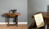 Woonvondst: vintage Singer naaimachine