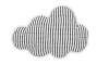 In de wolken met deze wolkenkussen