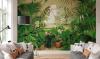 Net echt: dit urban jungle behang