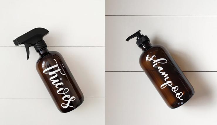Stoere flesjes voor op je wastafel
