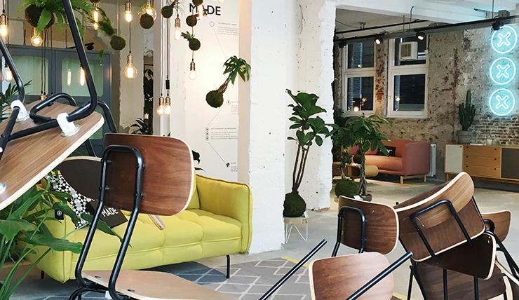 Woonwinkelen @ MADE.com showroom in Amsterdam - INTERIOR JUNKIE