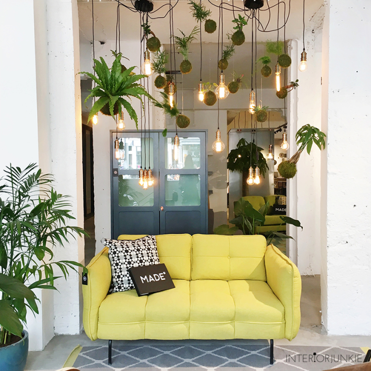 Woonwinkelen @ MADE.com showroom in Amsterdam