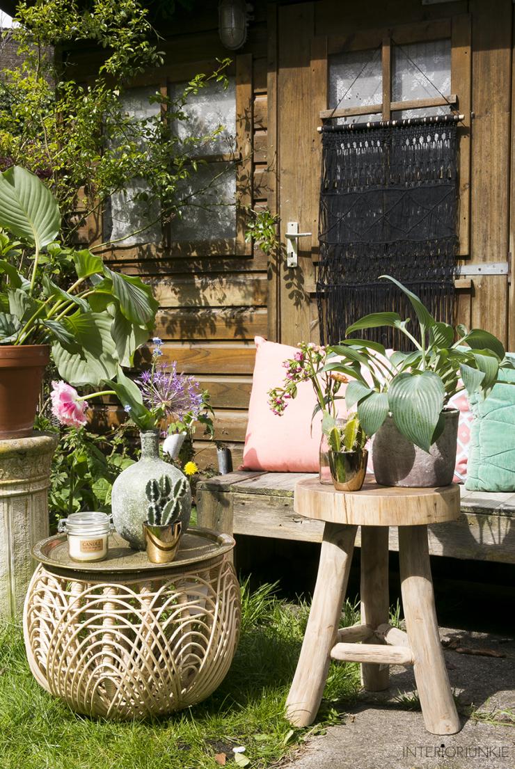 Mijn tuin gestyled met tuintrend Wereld tuin