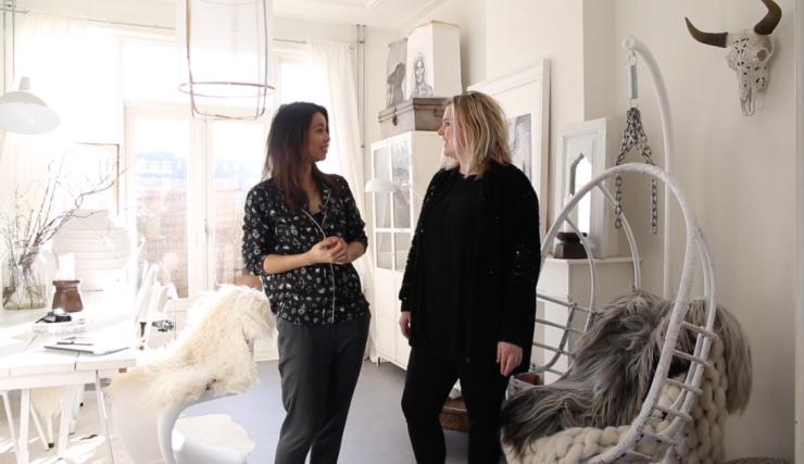 VIDEO: Huizentour bij woonstylist en blogger Sanne van &Stijl