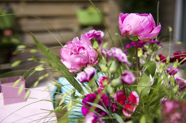 Fleur je huis op met de anjers