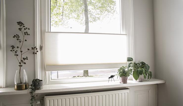 Pronken met mijn nieuwe raambekleding in huis