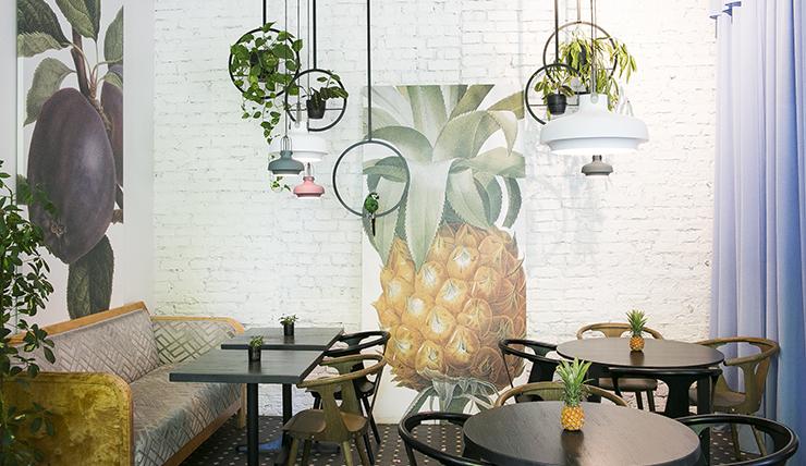 Lekker gezond lunchen designcaf tiirs in riga for Letse keuken