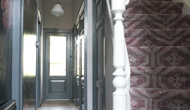 Verrassend mooie trap in huis