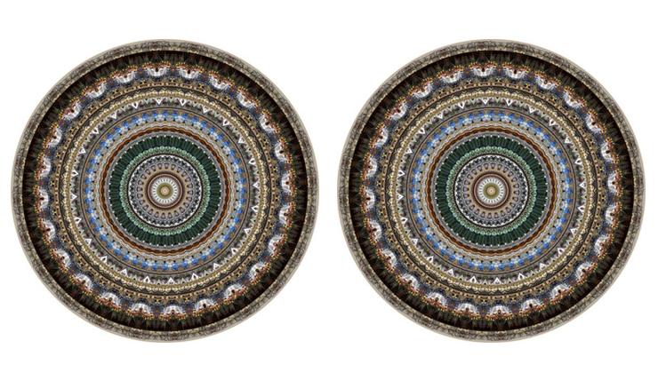 Liefde voor dit vloerkleed met Mexicaanse touch