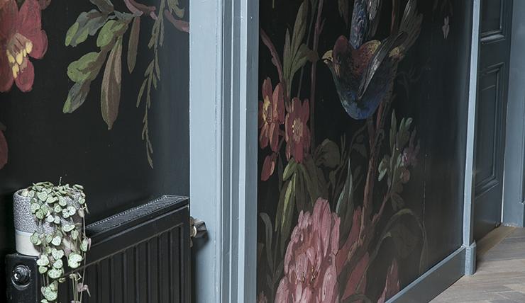 Mijn hal pimpen met muurdecoratie vol bloemen